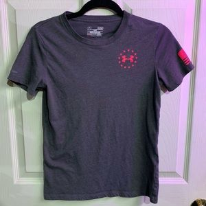 UNDER ARMOUR Wounded Warrior T-shirt size S